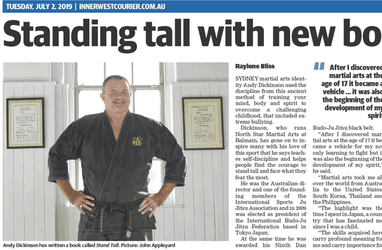 Andy Standing Tall Inner west courier